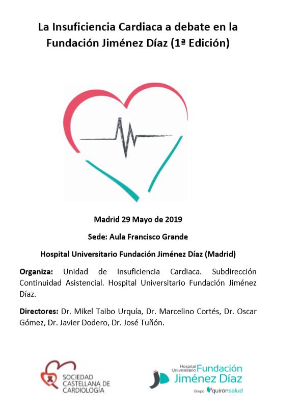 La Insuficiencia Cardiaca A Debate En La Fundacion Jimenez